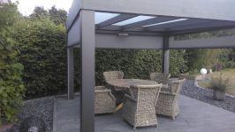 Terrassendach Flach